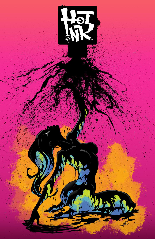 HOT INK ANTHOLOGY COVER - CCP Comics