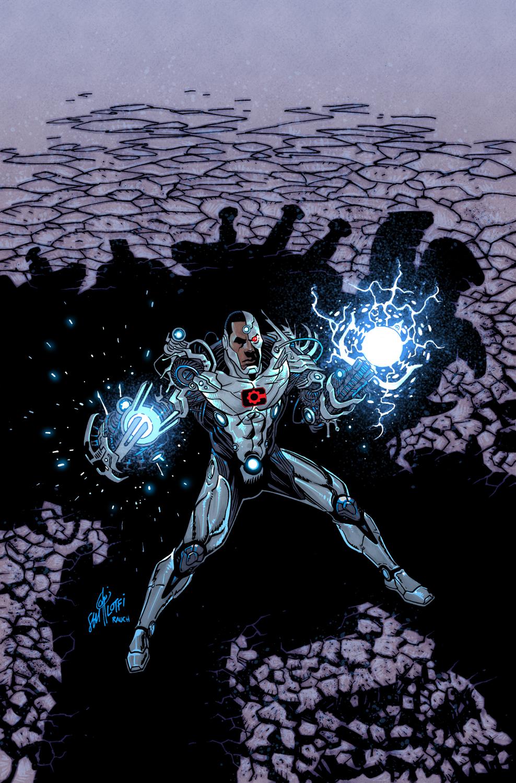 CYBORG #21 COVER - DC Comics