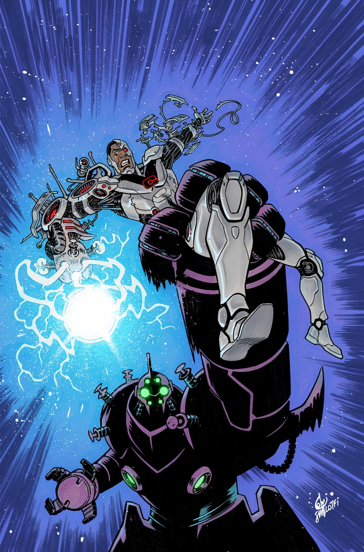 CYBORG #22 Cover - DC Comics