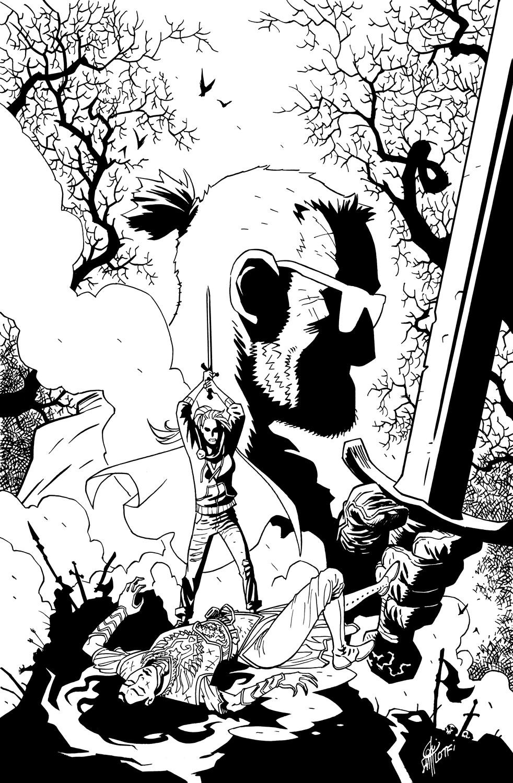 LARK'S KILLER #6 COVER - 1First Comics