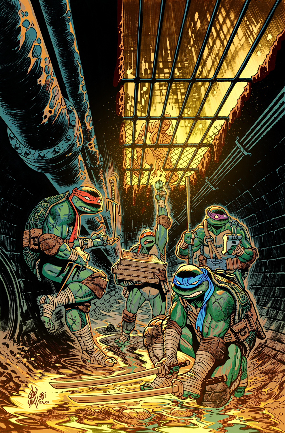 TMNT Cover - IDW