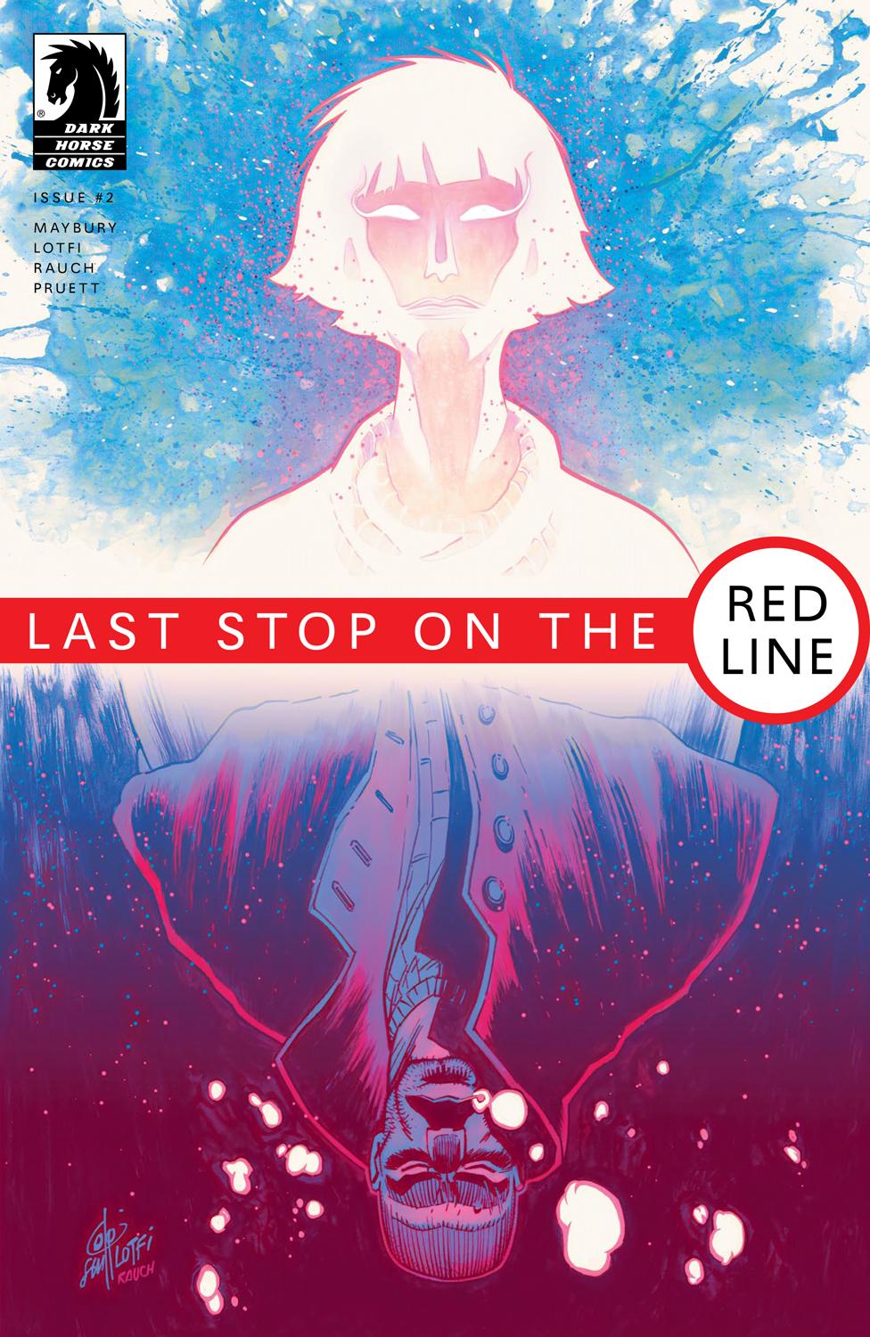 LAST STOP on the RED LINE Cover #2 - Dark Horse Comics