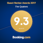 Check out our award on Booking.com!