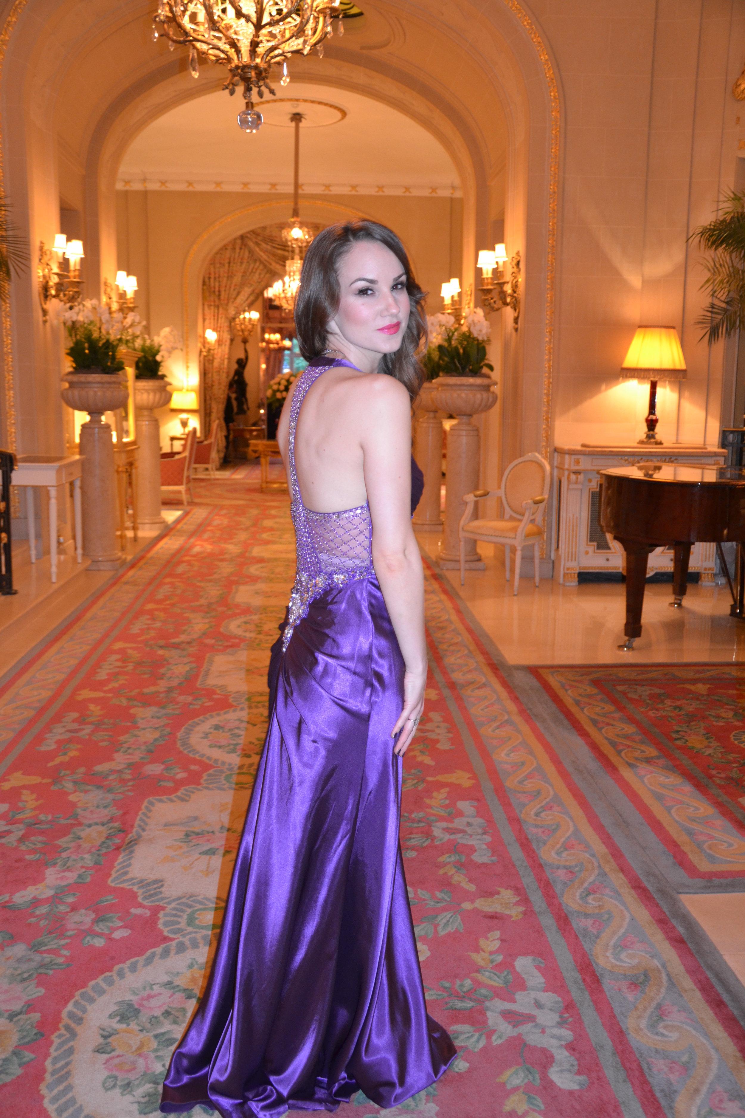 Performing at The Ritz London.