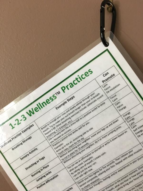 1-2-3 Wellness Tool