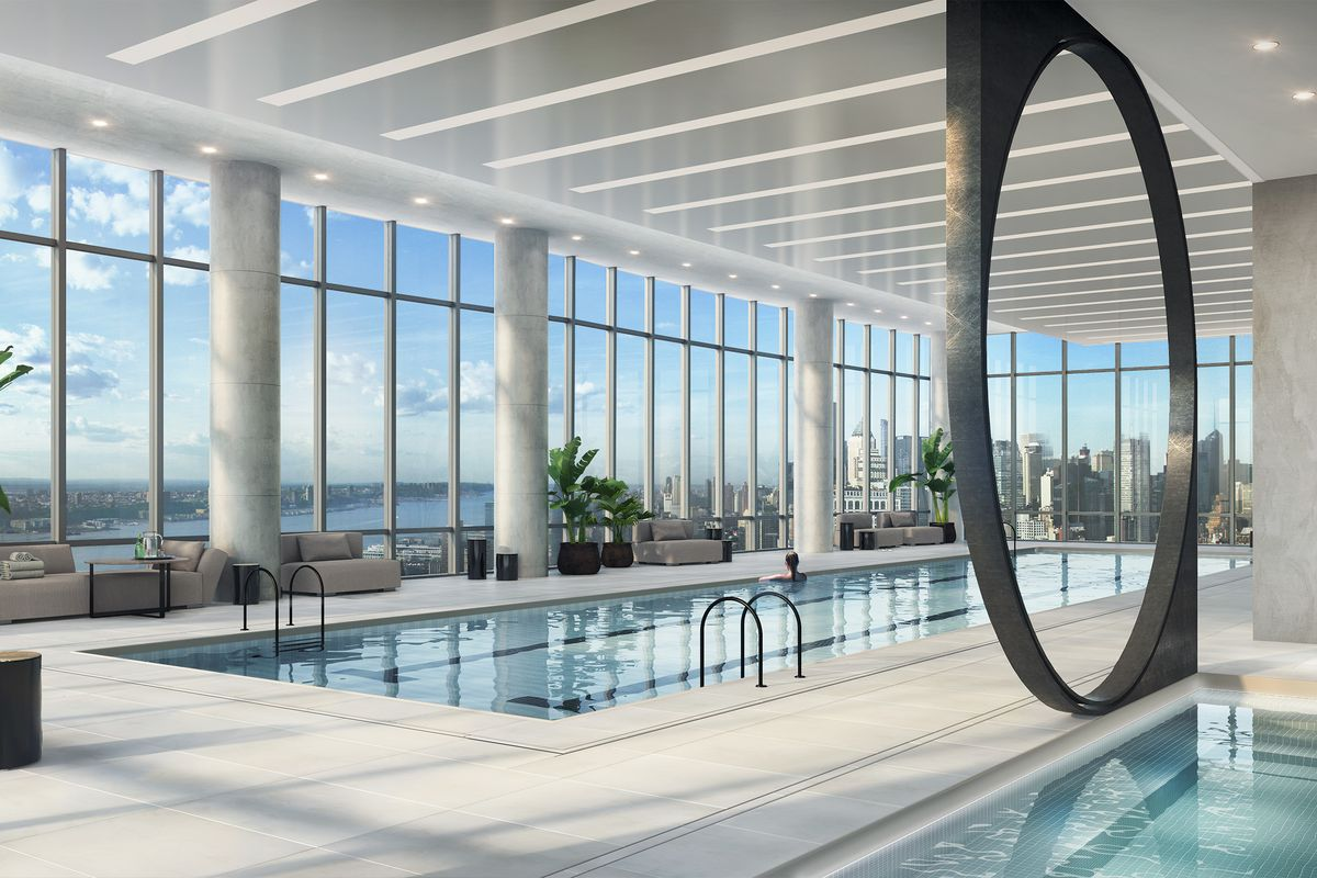 Pool Preview the Over-The-Top Amenities Coming to 15 Hudson Yards Related Companies Oxford Properties Rockwell Group Diller Scofidio + Renfro