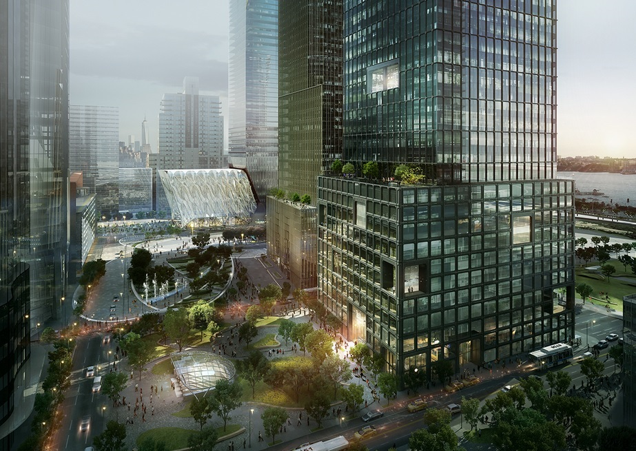 Hedge Fund & Asset Management Titans Moving to Related Companies' 55 Hudson Yards