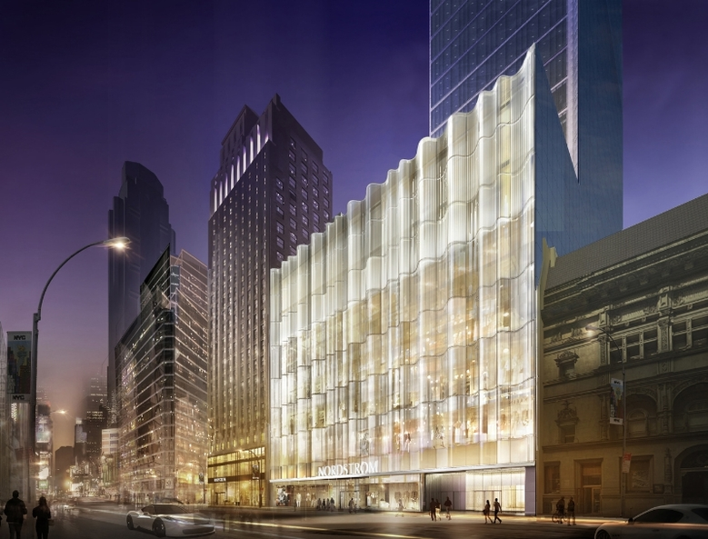 Nordstrom Extell Central Park Tower Now On Rise on Billionaires' Row, Completion Estimated 2019