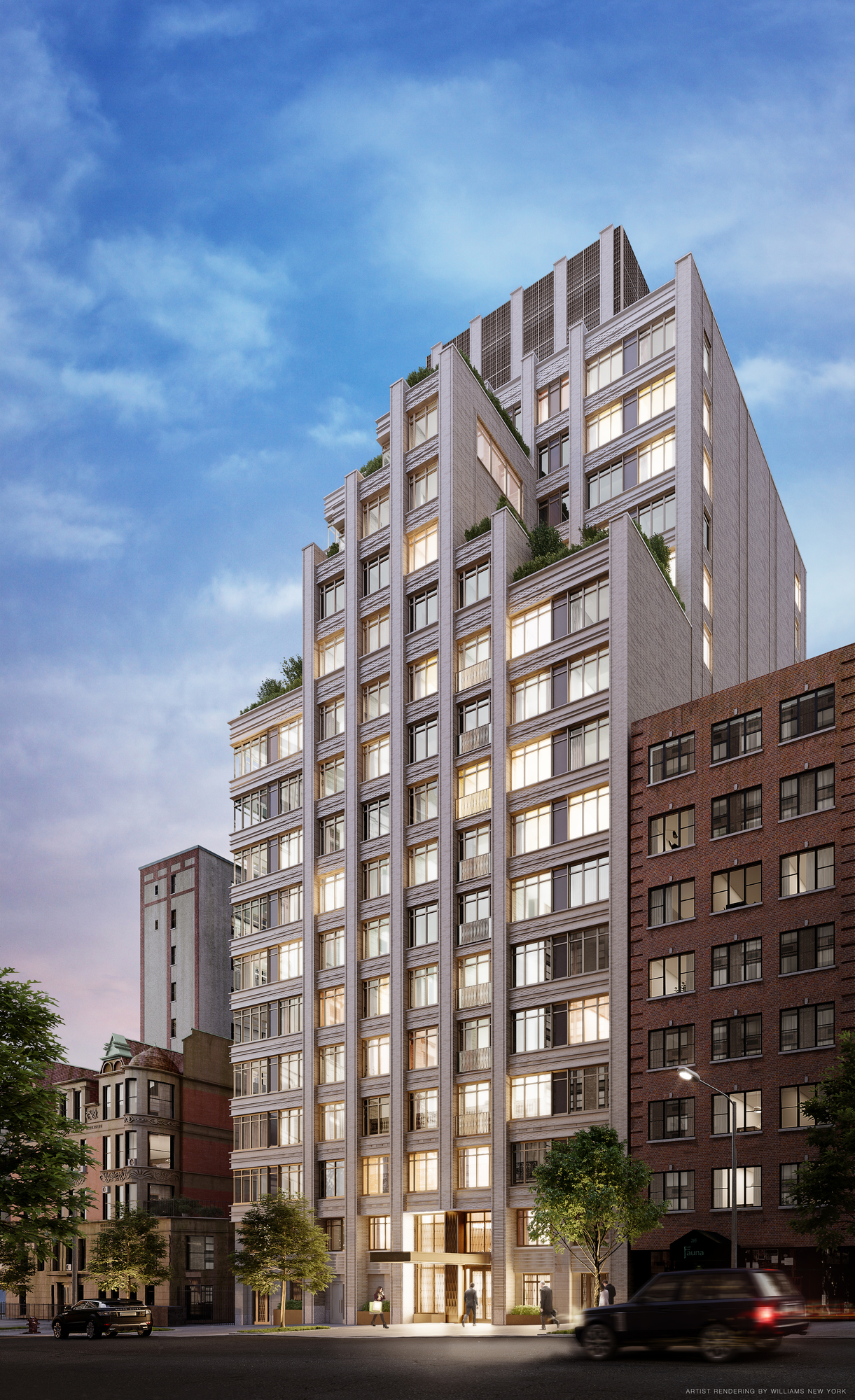 Excavation Underway at The Chamberlain, Located at 269 West 87th