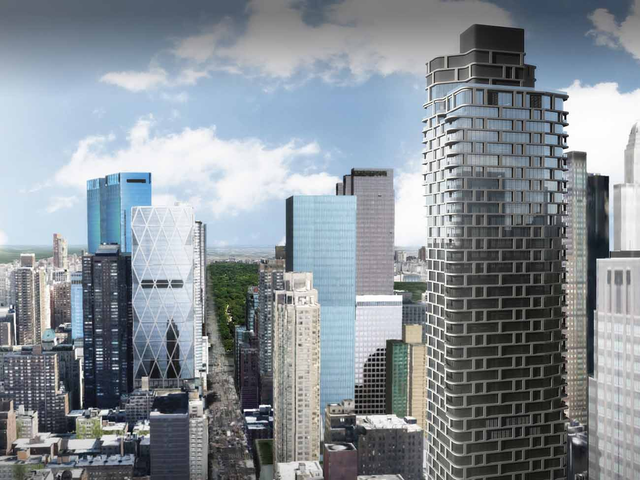 Construction Update: 242 West 53rd Street Nears Top-Off of 62-Story Mixed-Use Tower