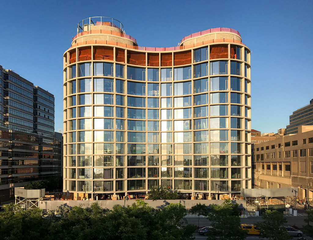 Construction Update: 160 Leroy Street Nears Completion, Glass Façade Installed