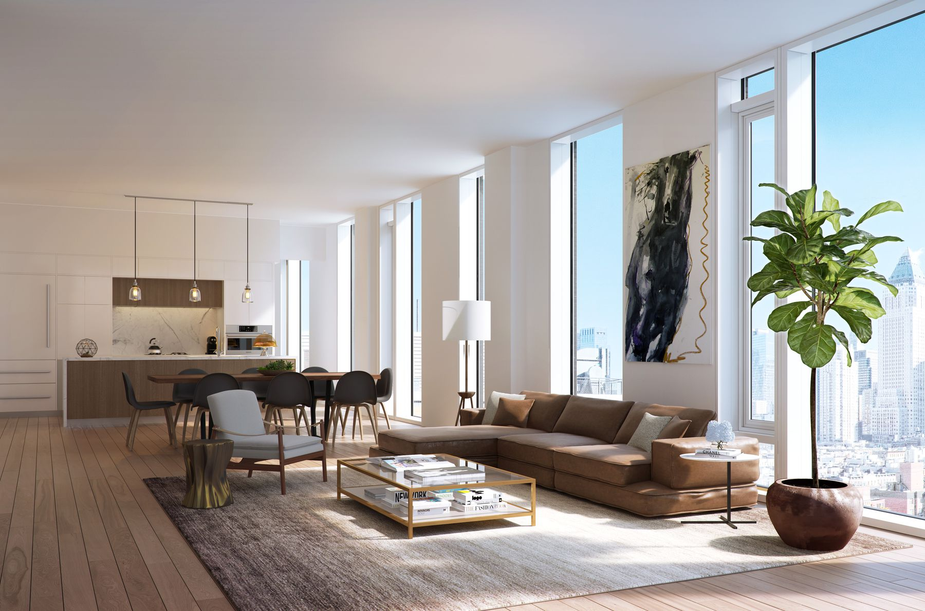 New Renderings Released of Charlie West, ODA's 123-Unit Hell's Kitchen Condo Project Designed by Andres Escobar