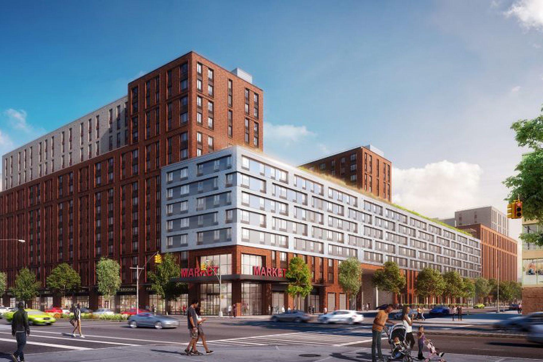Dattner Designed East Brooklyn Affordable Housing Complex Releases Renderings
