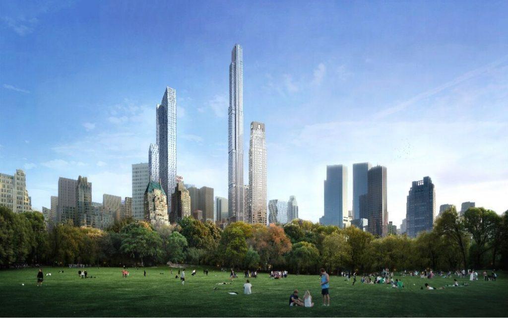 Extell & Gary Barnett Closing in On $900 Million Construction Loan for the $4.02 Billion Central Park Tower