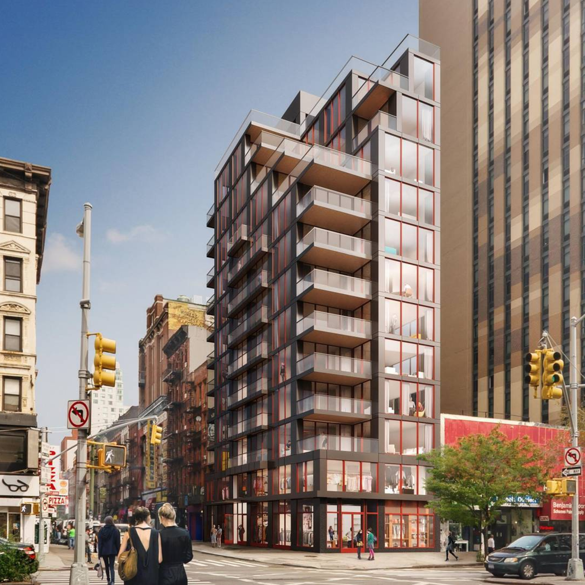 New Renderings of the Lower Eastside's 86 Delancey Street Unveil Updated Design