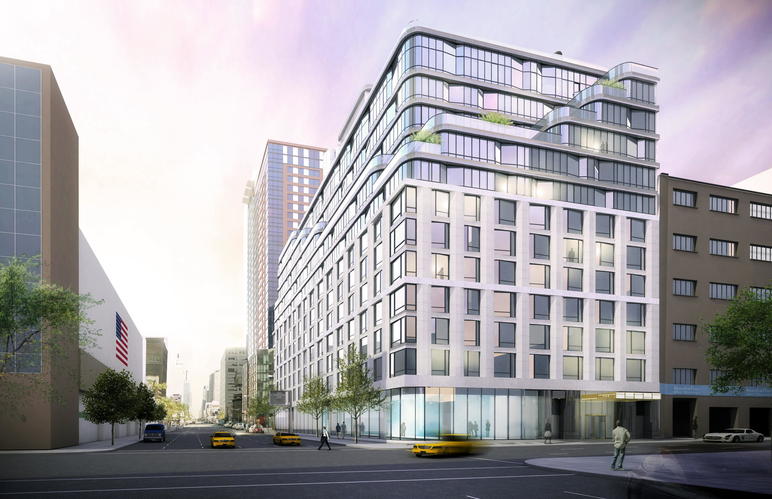 Construction Update: 572 Eleventh Avenue Tops Off in Hell's Kitchen
