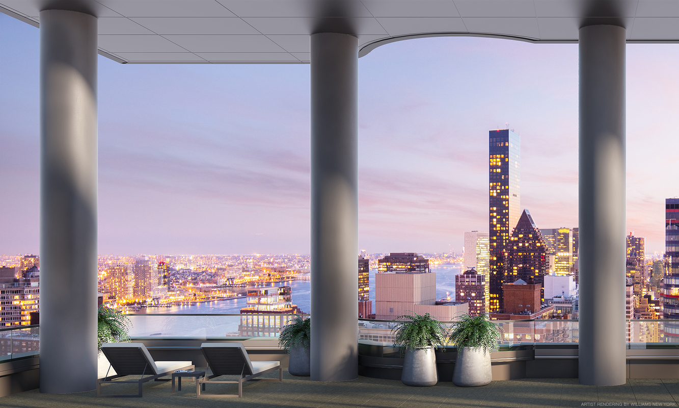 SOM's 252 East 57th on Billionaire's Row Unveils Daniel Romualdez-designed Amenities