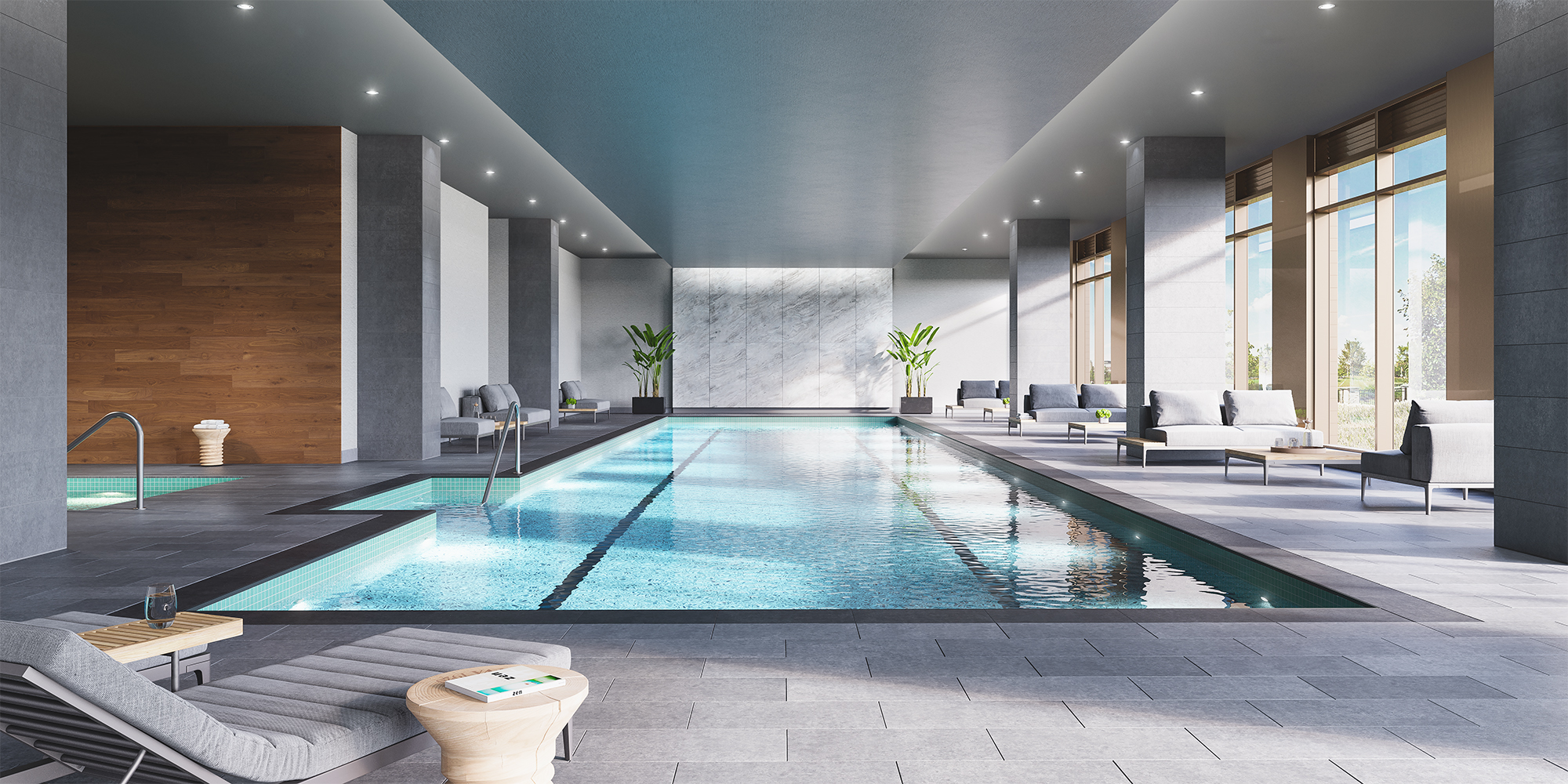 Park and Shore, Jersey City's New Luxe Condo Reveals New Imagery & Prepares To Launch Sales