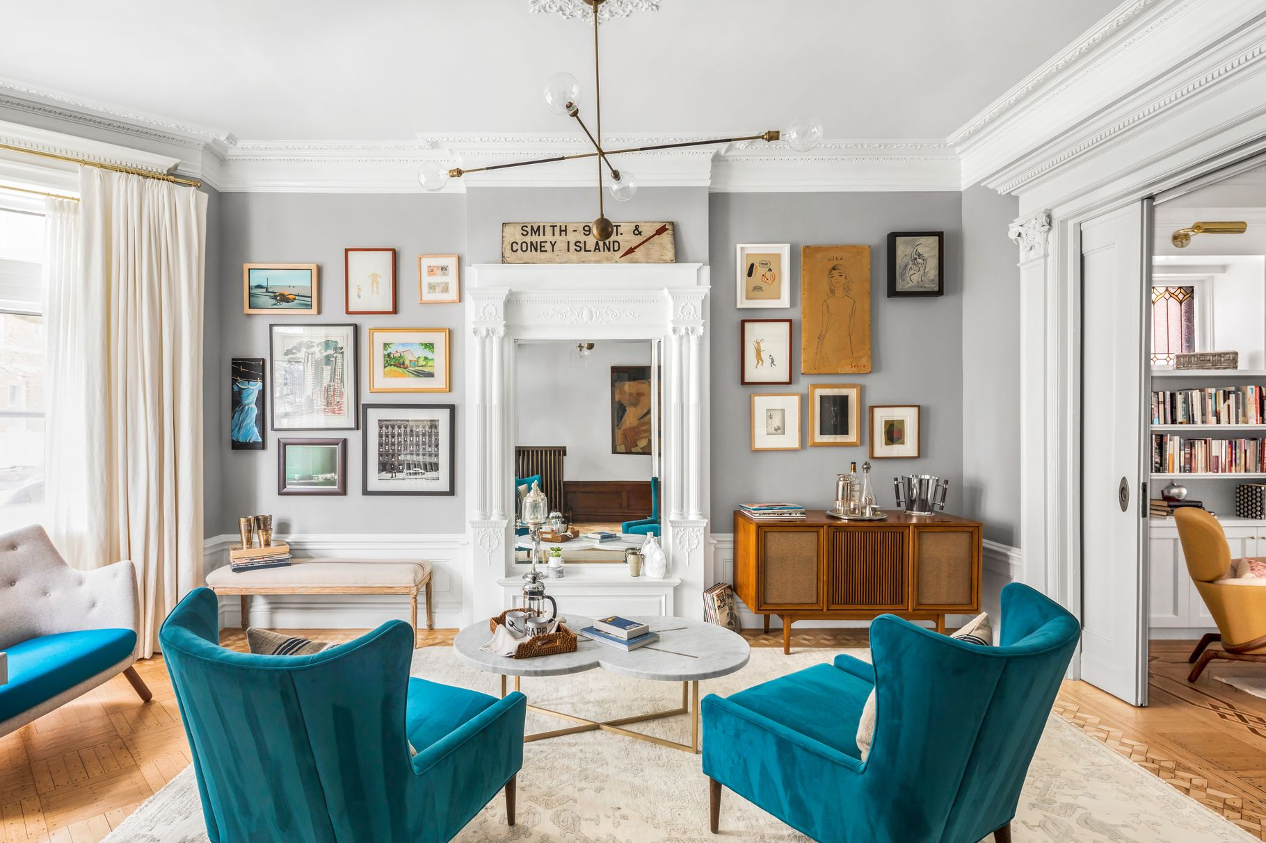 Featured Listing: Step Inside the Park Slope Townhouse of Emily Blunt & John Krasinski Which Listed for $8 Million