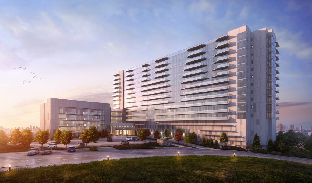 One Park Designed by Architectura Tops Off in Cliffside Park, New Jersey