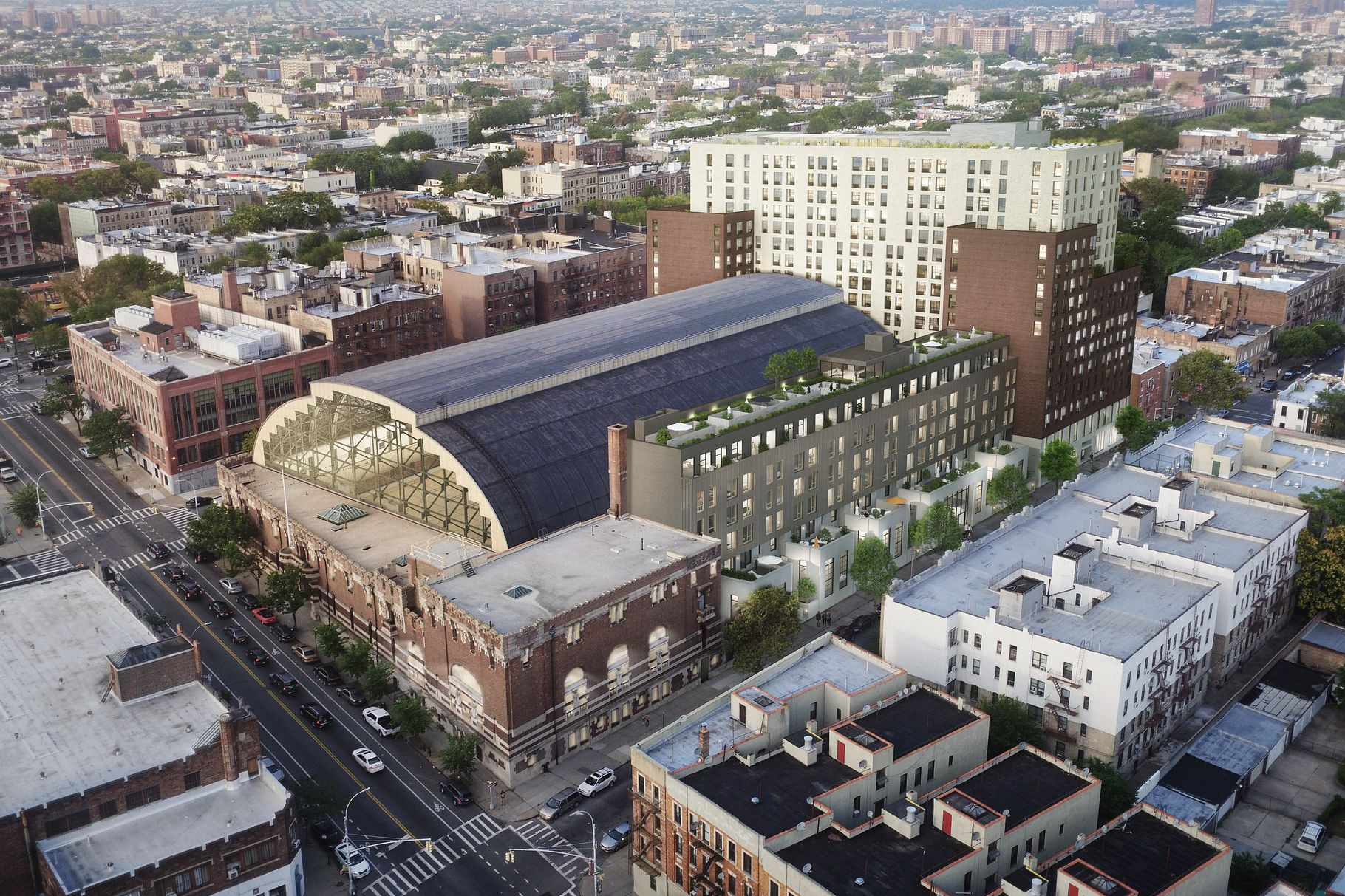 Drama Beginning to Stir-Up at the Bedford-Union Armory Redevelopment Project