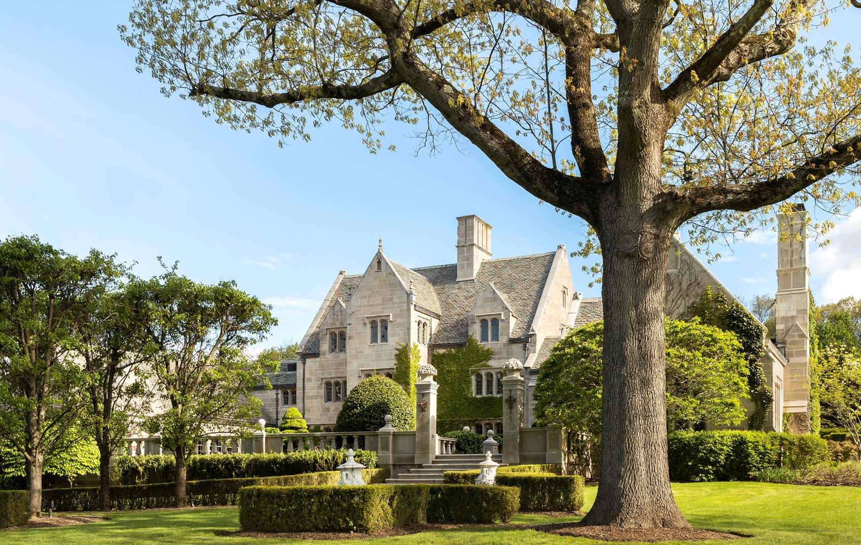 Featured Listing: Take a Stroll Through the Grounds of a Meticulous Greenwich Estate That Took 100 Artisans to Build