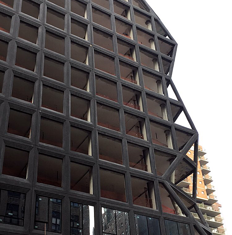 Construction Update: The OMA-Designed 121 East 22nd In Gramercy Puts Finishing Touches onGeometric Façade
