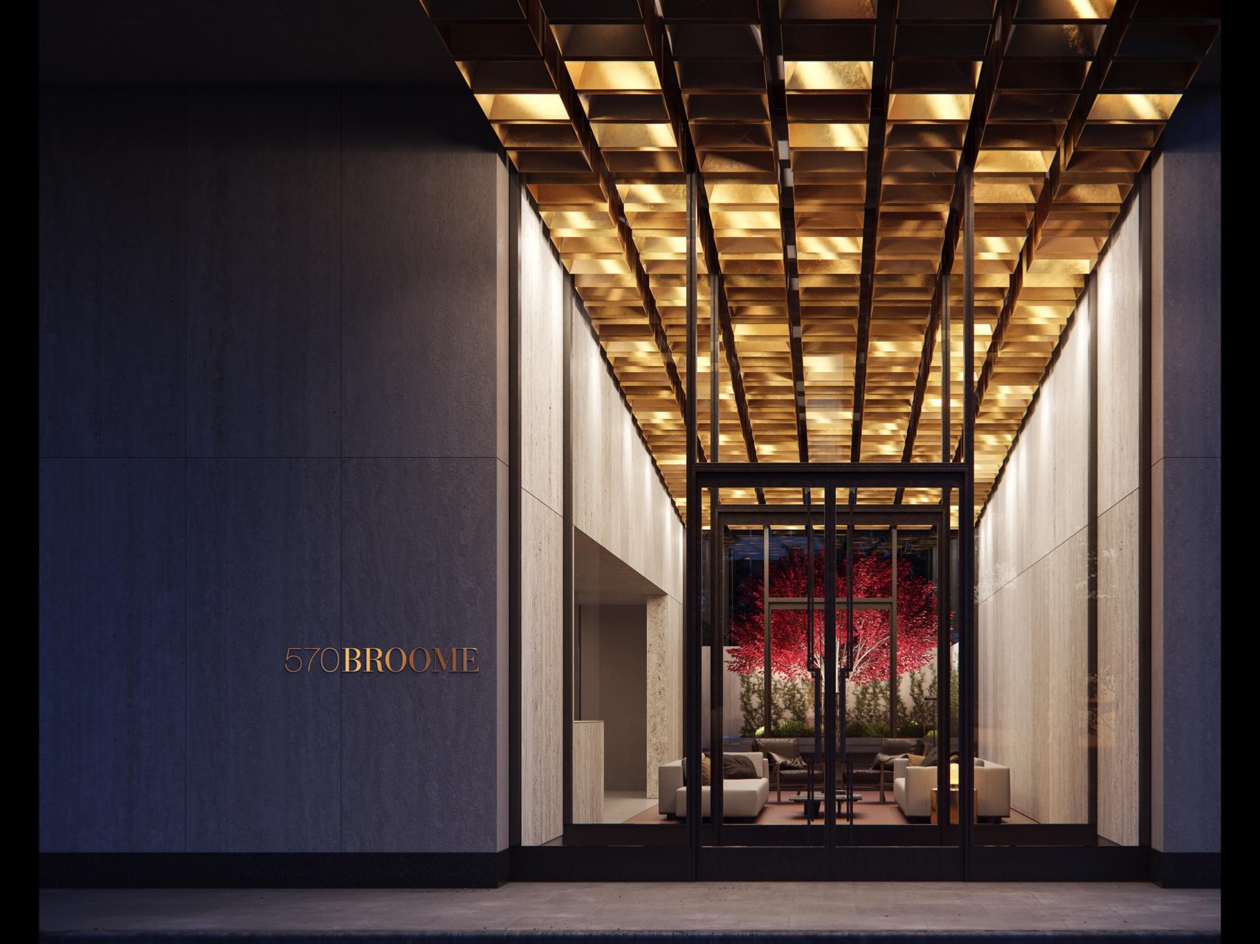 The BUILTD-Designed 570 Broome Street Reveals New Renderings & Teaser Site