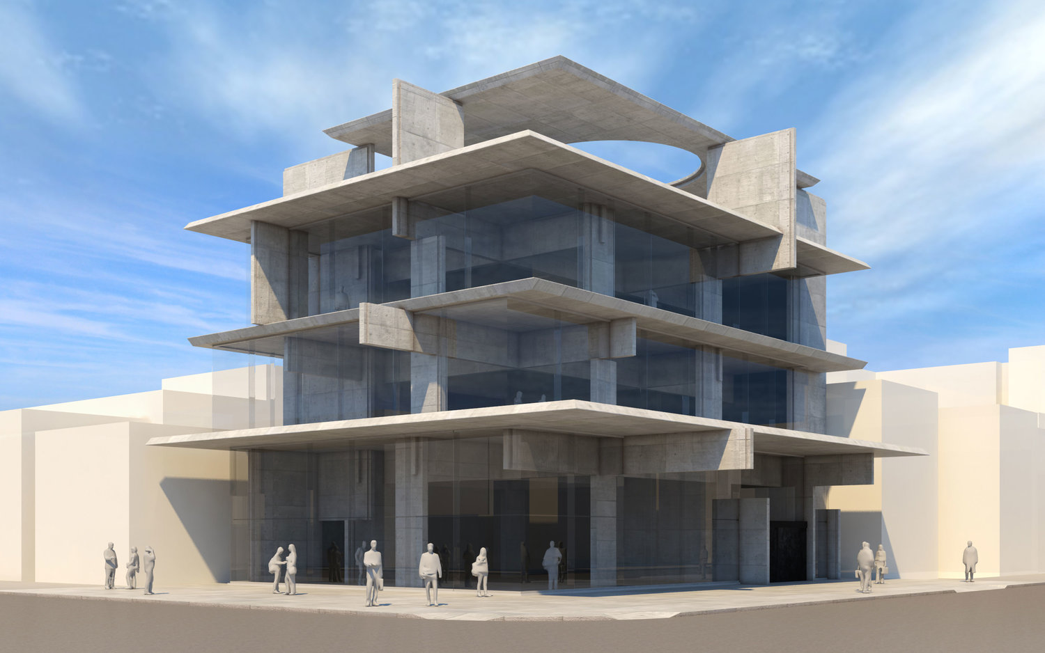Trendy New Bluarch Architecture-Designed Commercial Project Revealed in Astoria