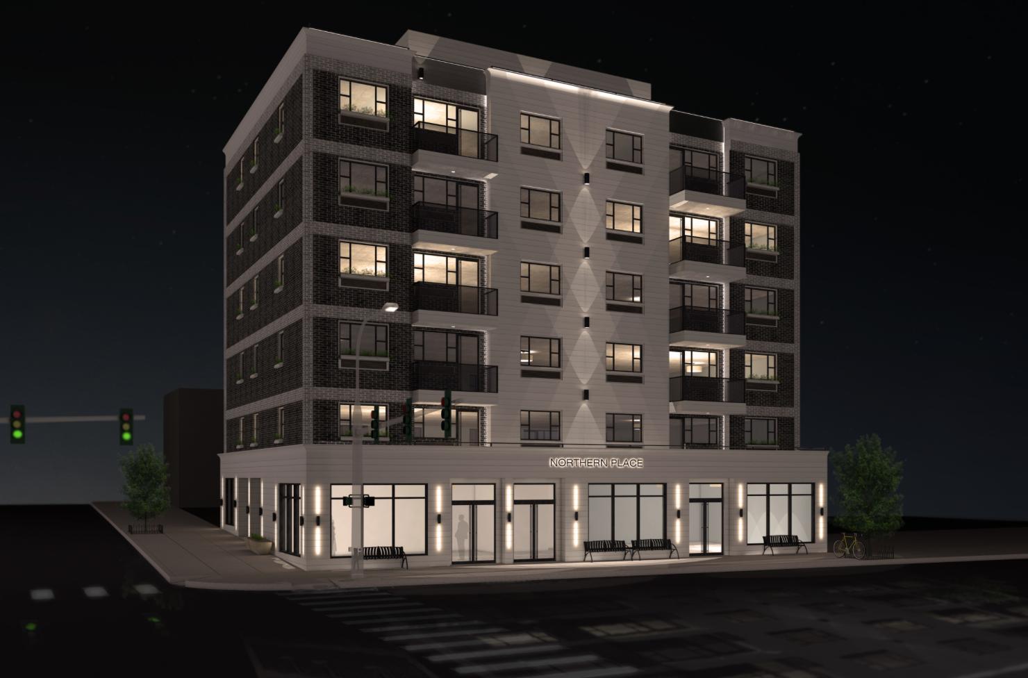 Renderings Revealed for Lu Ning-Designed 32-65 107th Street in Queens