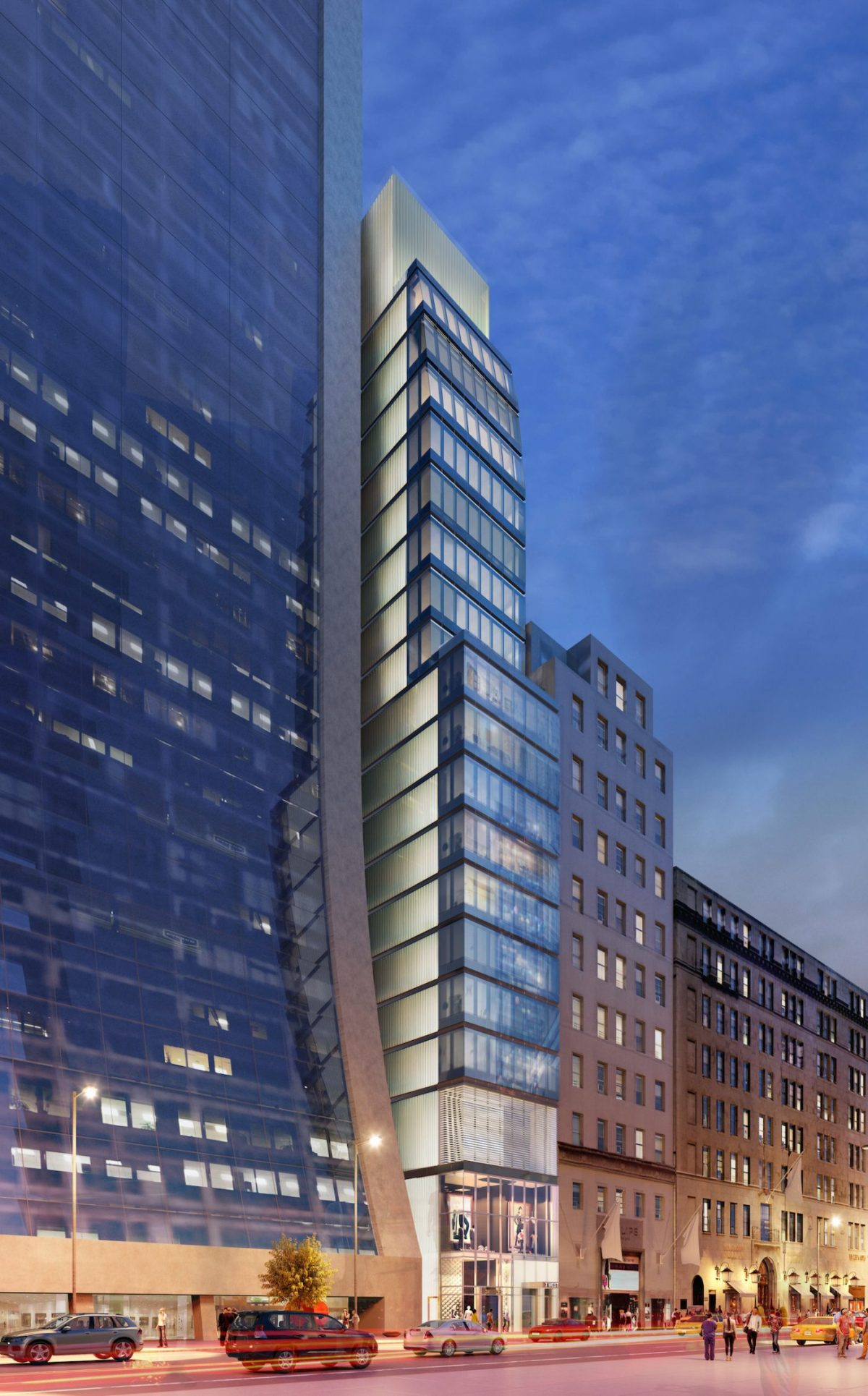 Sheldon Solow Reveals New Rendering of Hill West-Designed 7 West 57th Condo Tower