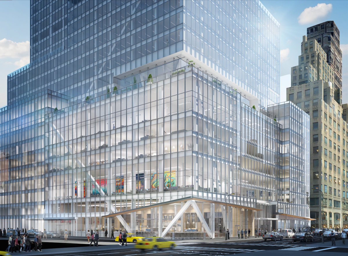 Construction Update: L&L Holding Company Tops Out The Kohn Pedersen Fox-Designed 390 Madison Avenue