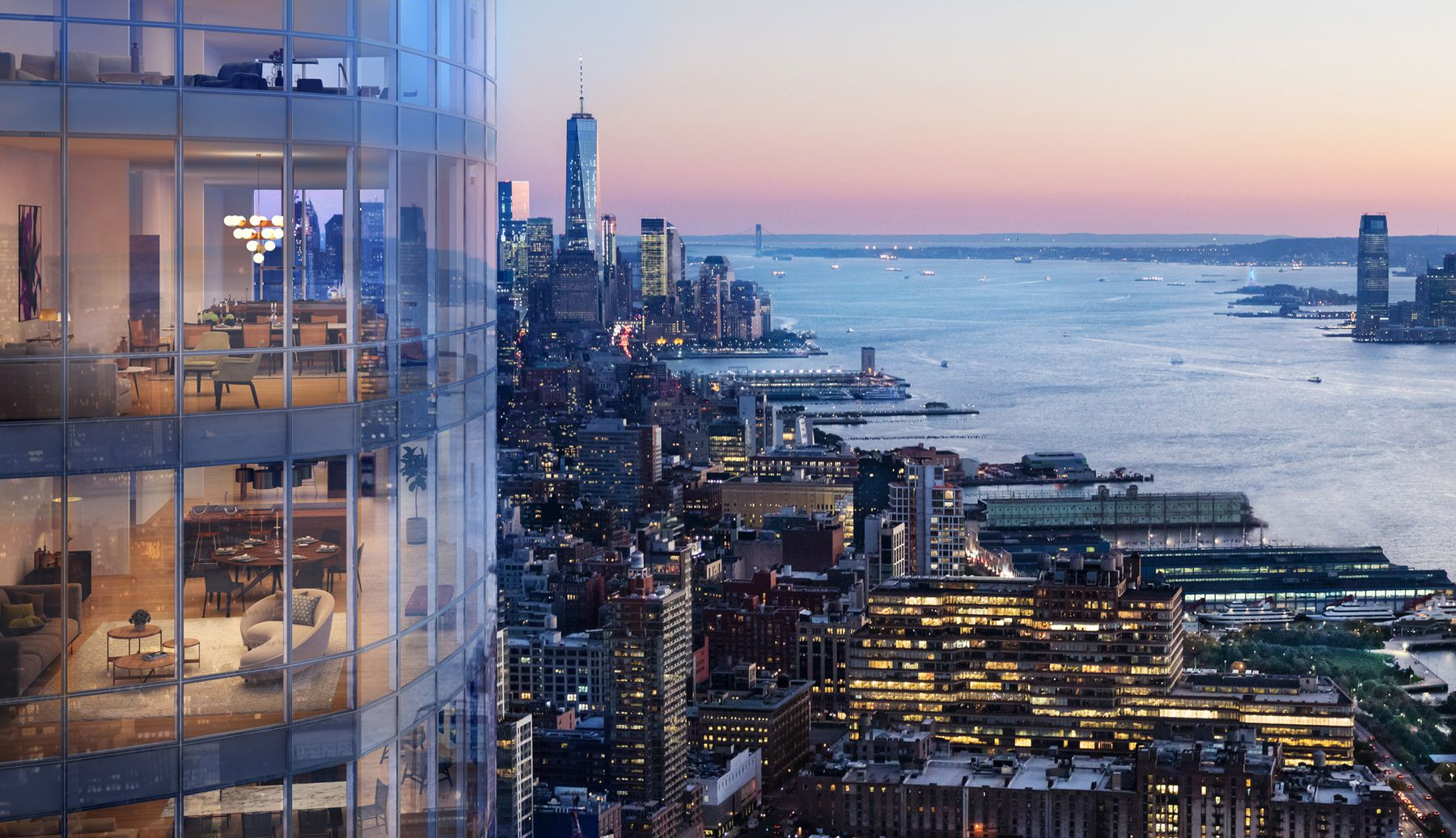 Construction Update: Diller Scofidio + Renfro-Designed 15 Hudson Yards Begins to Show its Curves as Construction Reaches Upper Floors