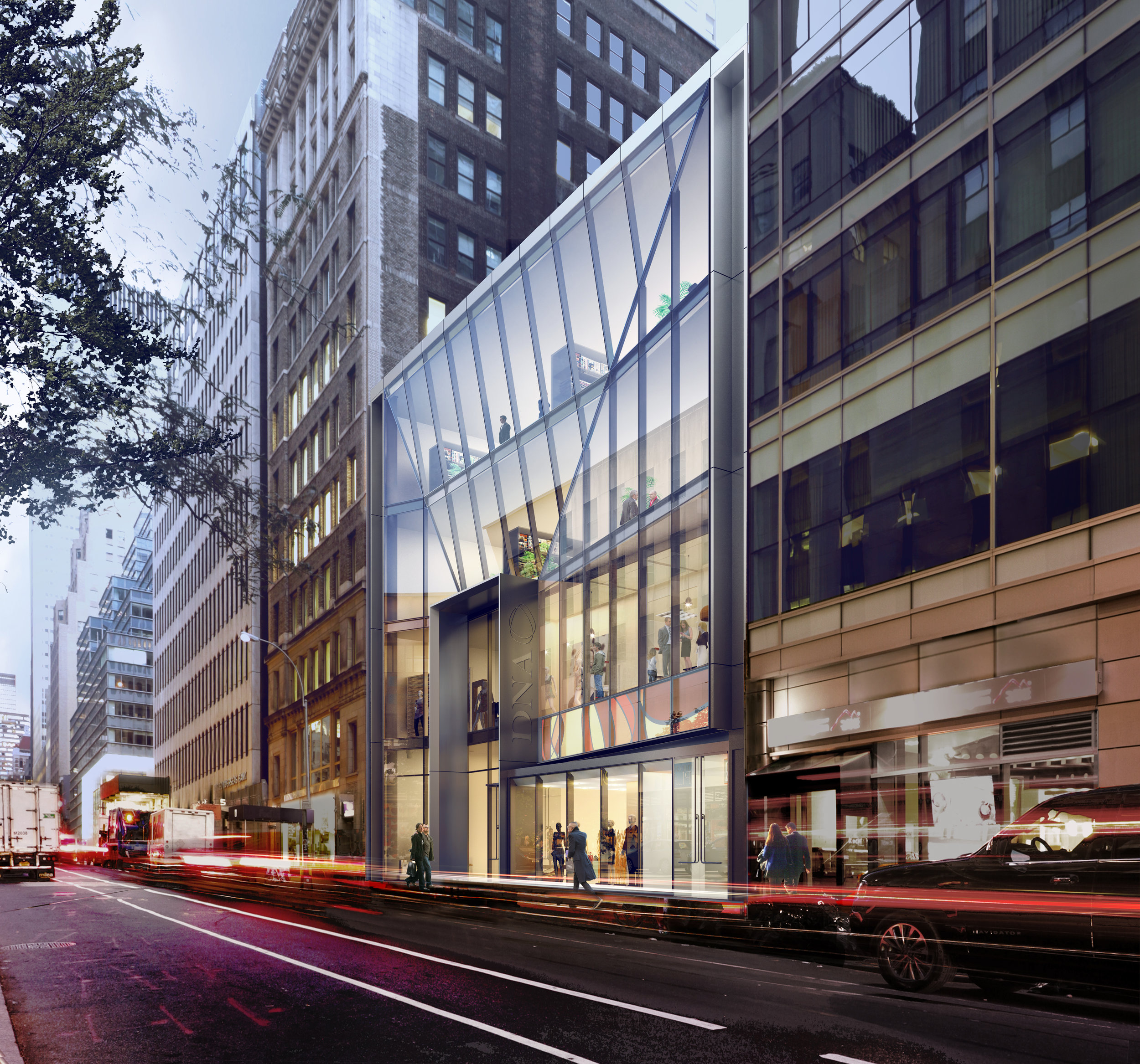 Check-Out DNA Development's New Jewel Box Retail Project Adjacent to Rockefeller Center & Fifth Avenue