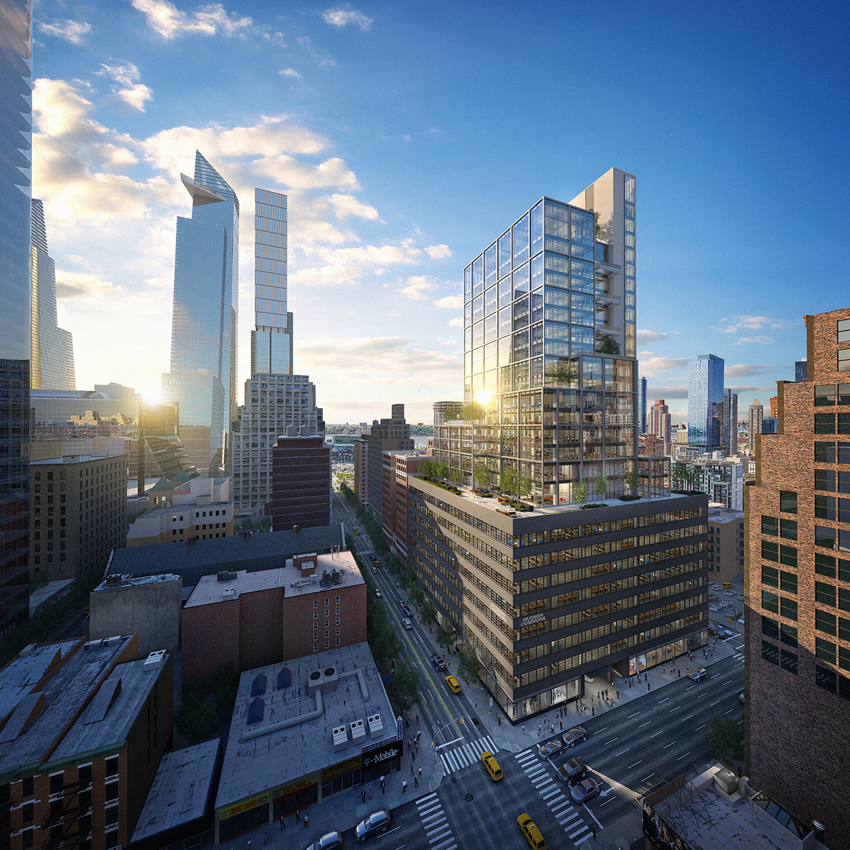 Get A First Look at The Newly Revealed Rendering For Hudson Yards' 441 Ninth Avenue