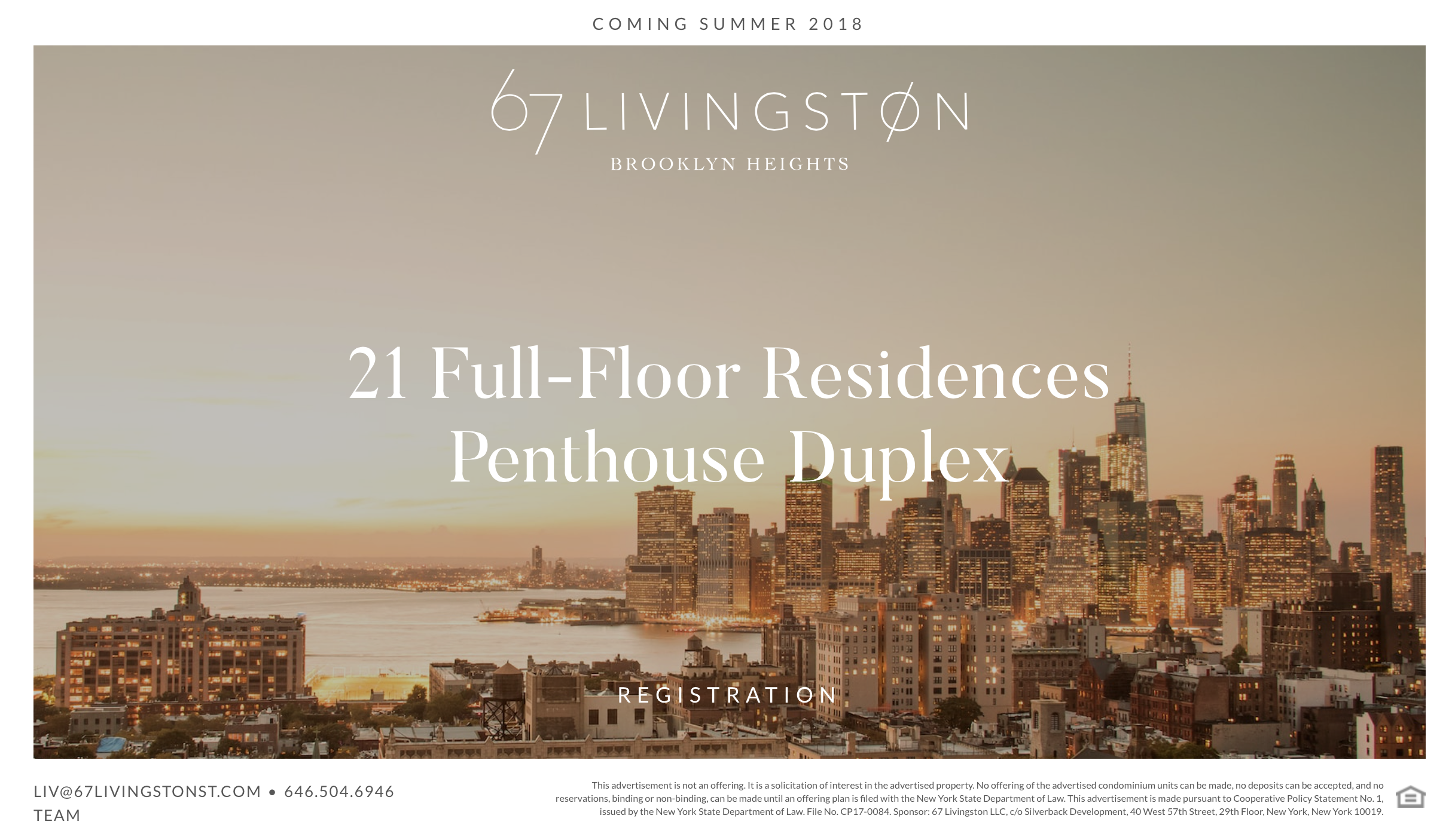 Silverback Development Launches Teaser Website For 67 Livingston in Brooklyn Heights