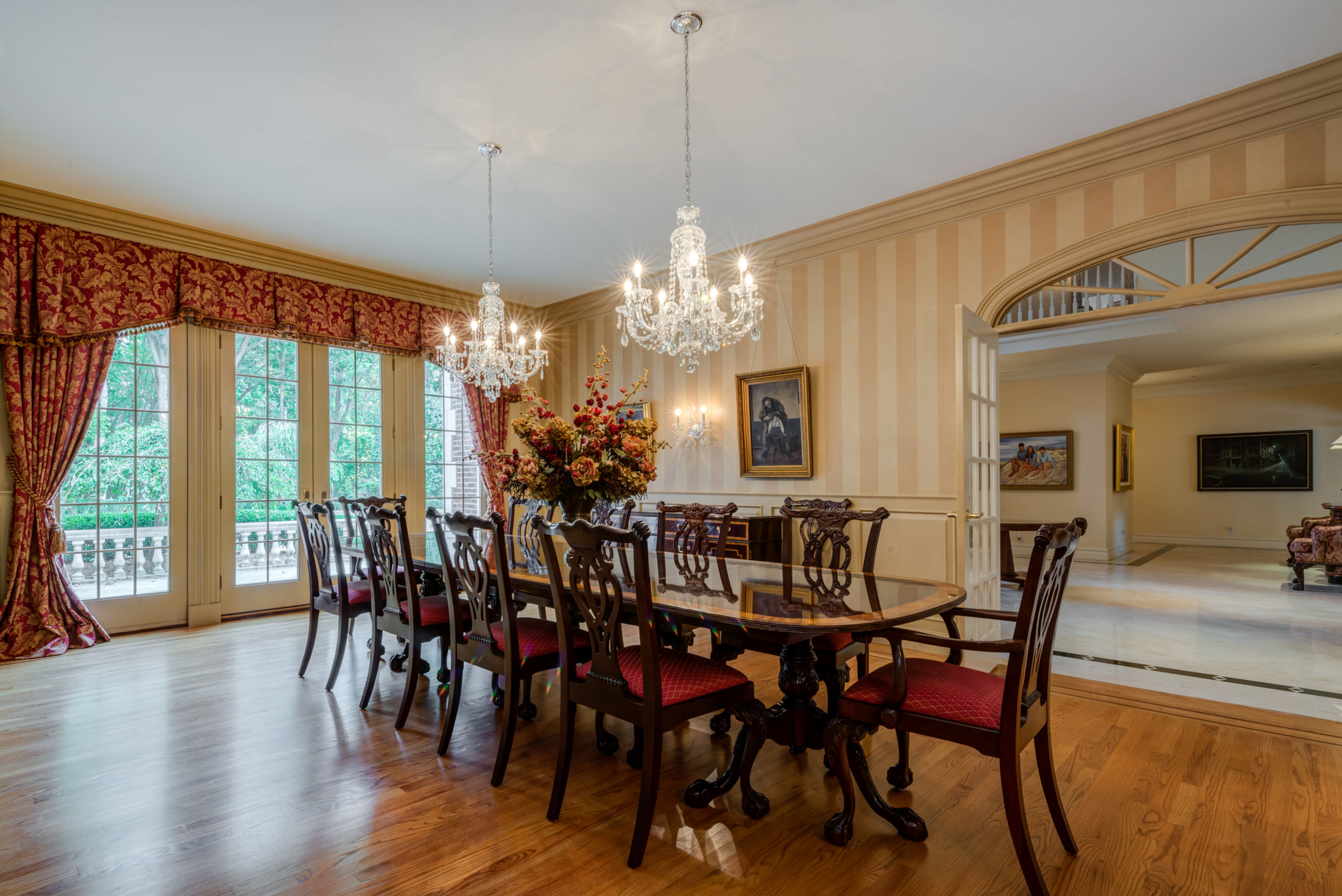 Featured Listing: Tour A Stunning, Ultra-Private English Manor Estate In Backcountry Greenwich