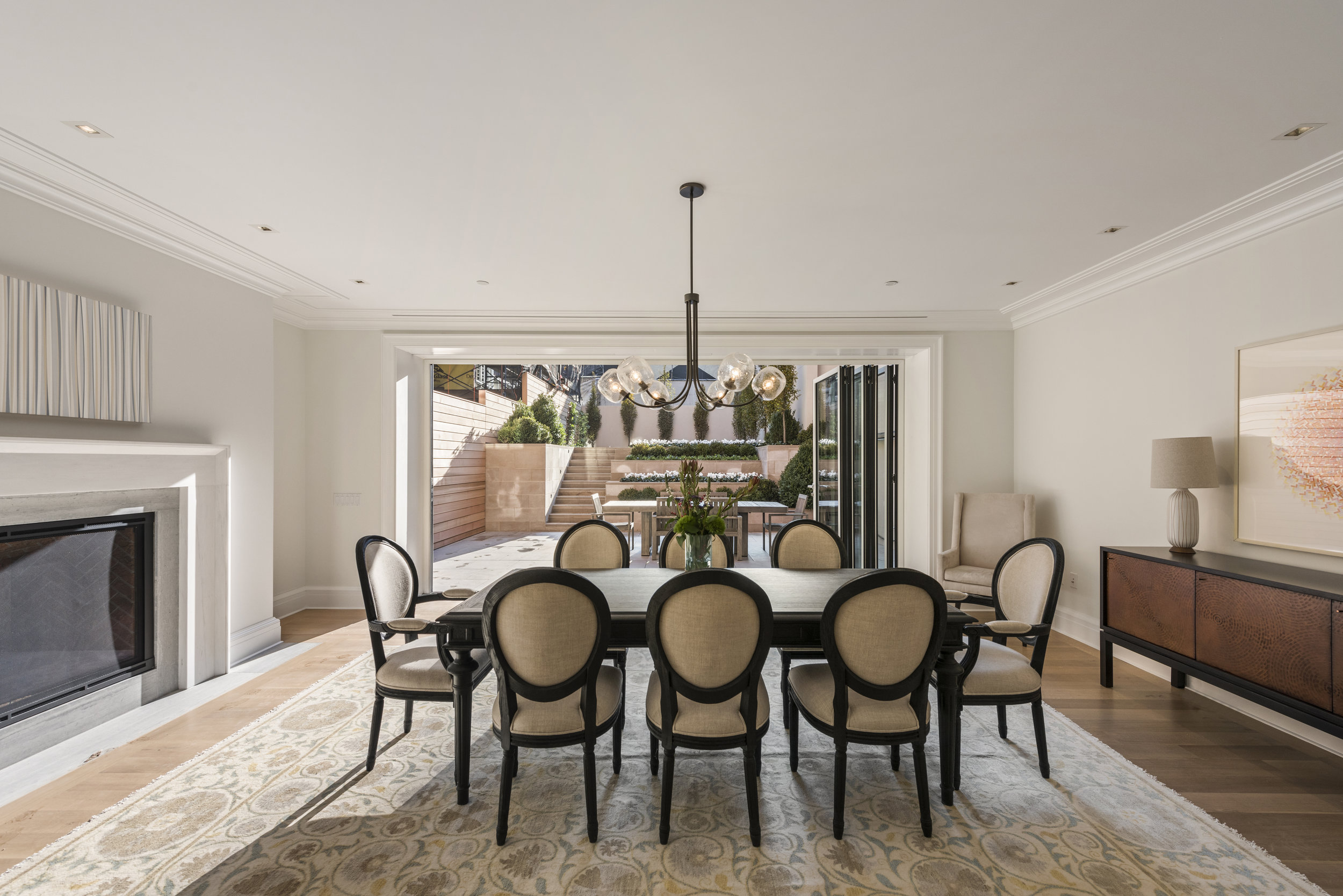 Time Equities Reveals New Model Townhome 38 Prince Street At Residences at Prince