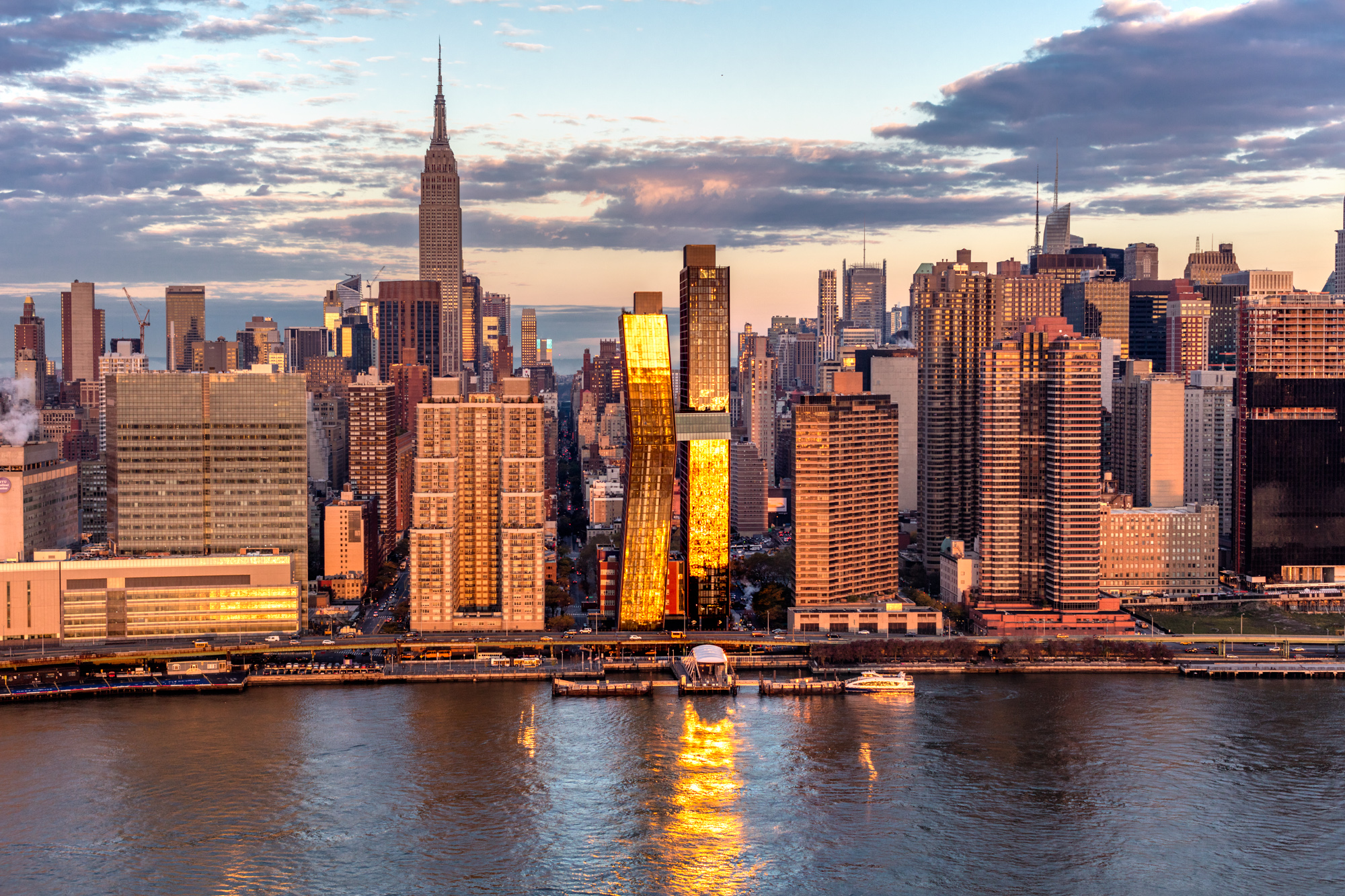 JDS Development Group's American Copper Buildings Opens The First Skybridge In NYC In 80 Years