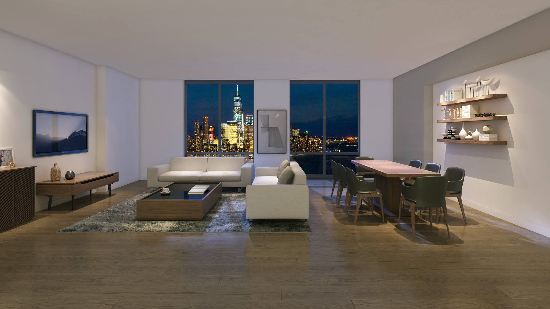 Check-Out The Most Expensive Rental In Jersey City History Which Just Hit The Market For $10,995 Per Month