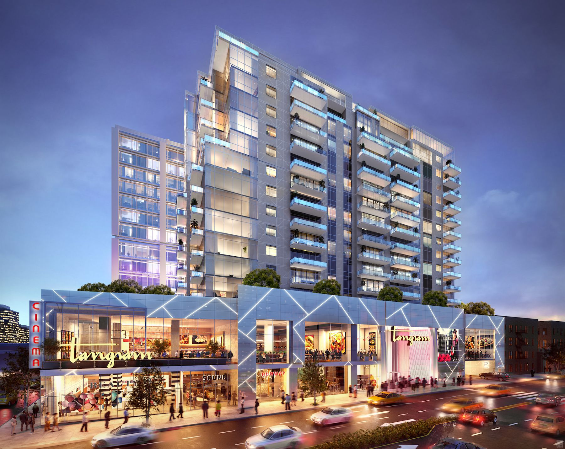Check-Out F&T Group's Tangram House South, Where Sales Just Launched At The First Of 4 Proposed Buildings