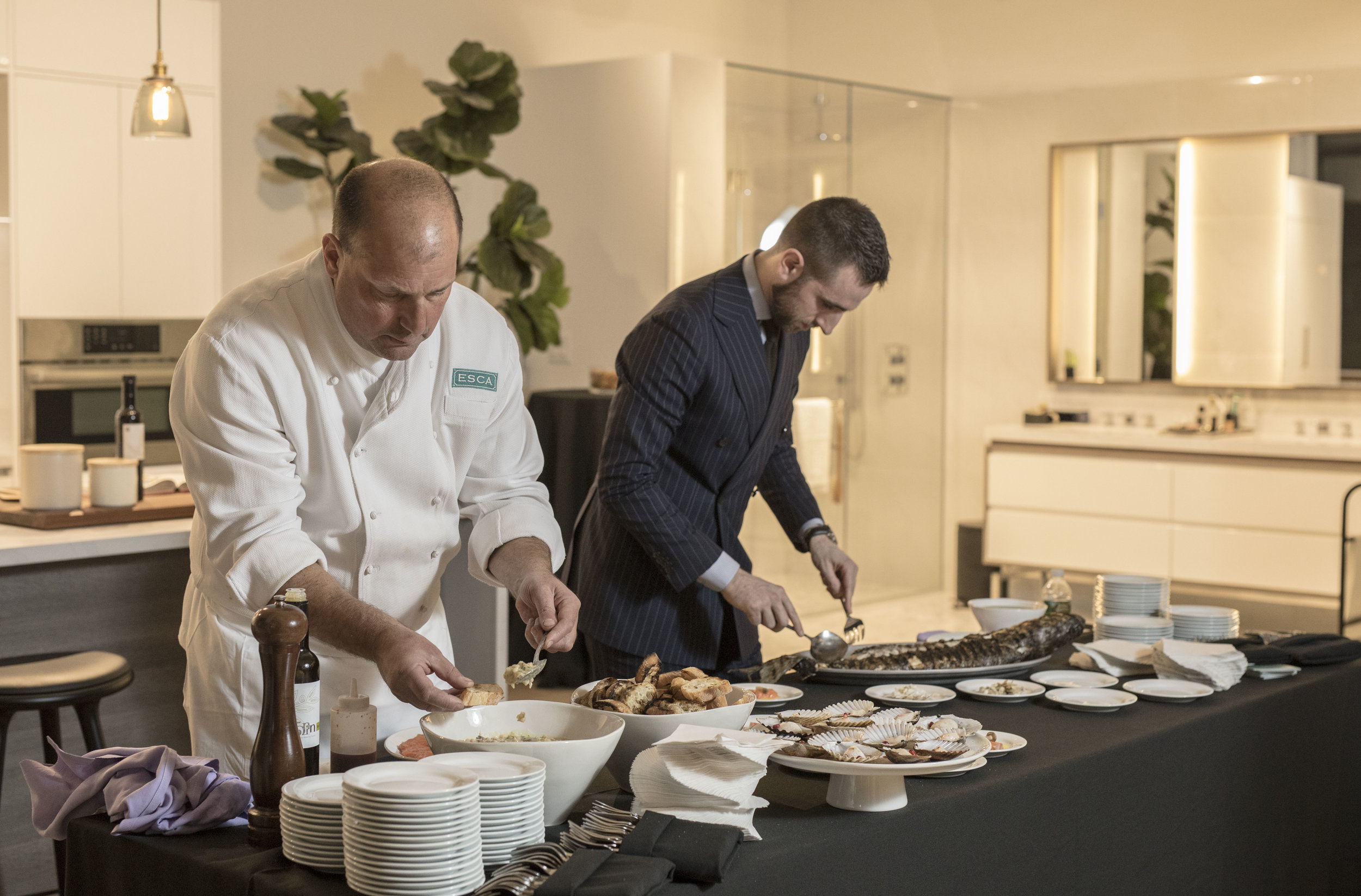 Esca Restaurant Douglas Elliman Development Marketing And Charlie West Team Up For A Swanky Launch Event.JPG