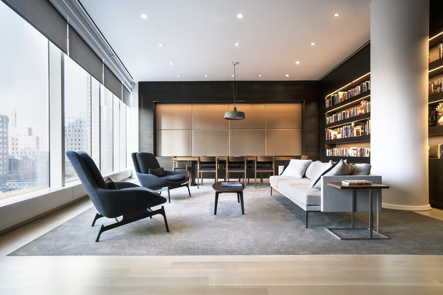 The Helmut Jahn-Designed 50 West Street In The Financial District Reveals Its Over-The-Top Amenities