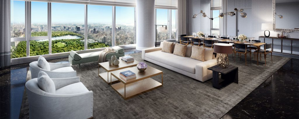 New Renderings Surface of Extell's Central Park Tower On Billionaire's Row