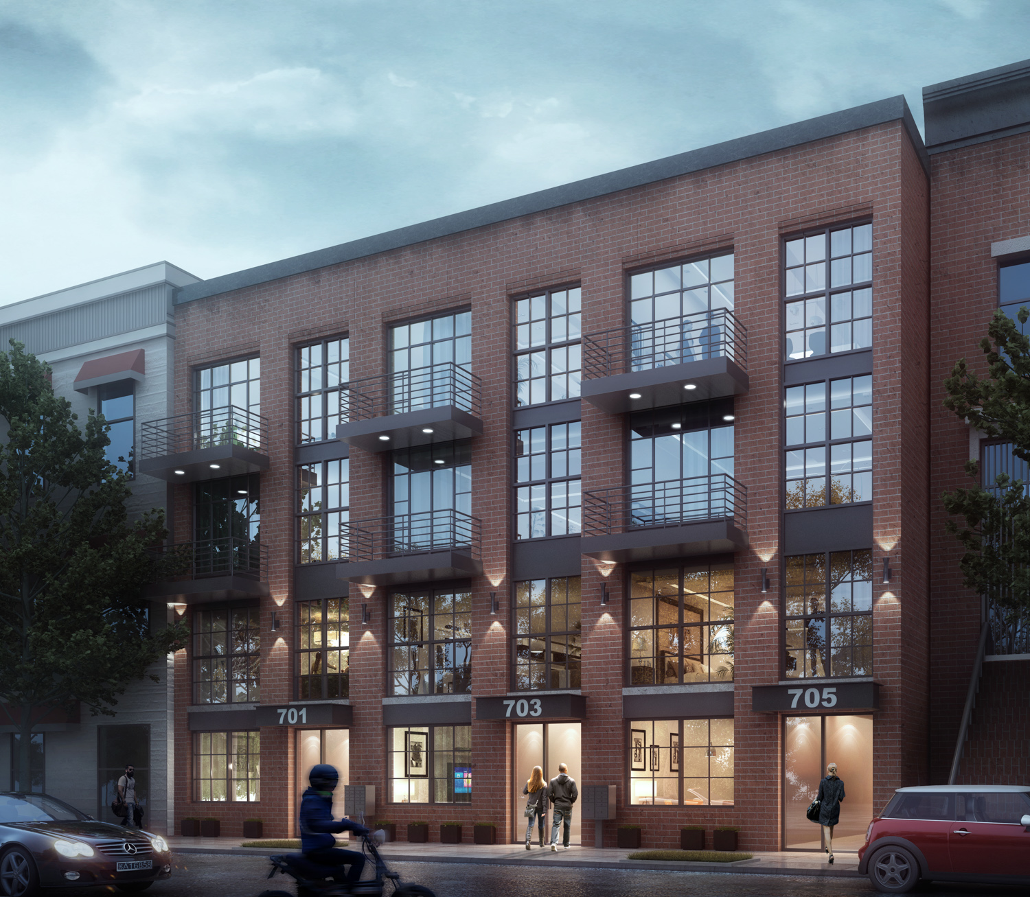 The IMC Architecture-Designed 701 Lafayette Avenue Is Revealed In Bedford-Stuyvesant, Brooklyn