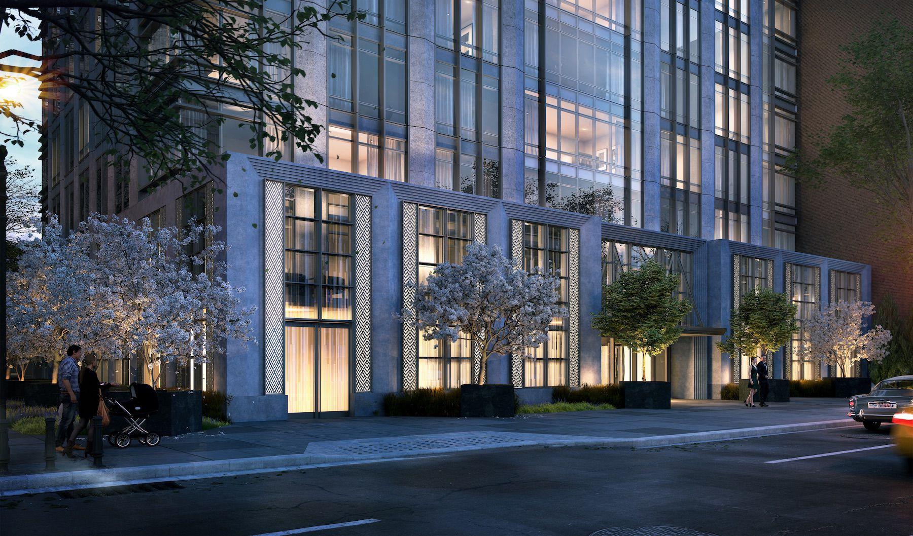 SJP Properties Reveals New Renderings Of The Elkus Manfredi-Designed Art Deco 200 Amsterdam Avenue On The Upper West Side