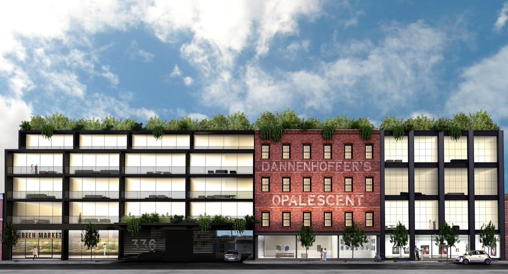The ASH NYC-Designed Glassworks Bushwick Launches Teaser Site, To Launch Leasing In January 18