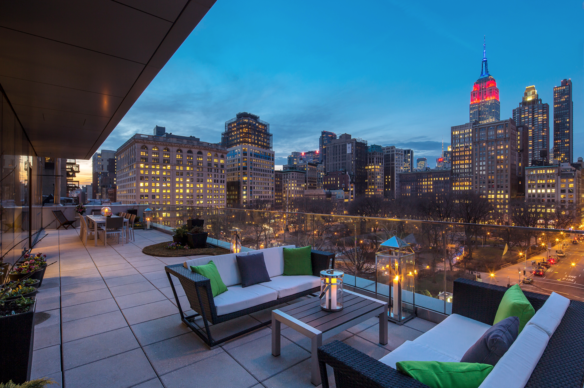 Featured Listing: Take A Look At This One Madison Pad With A Private Garden And Views of Madison Square Park