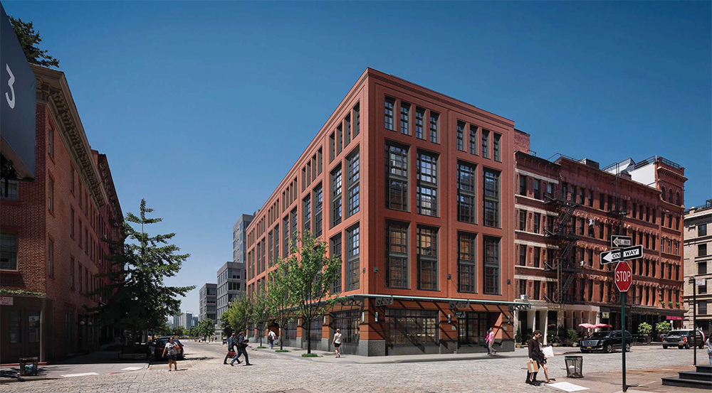 The Long Delayed 456 Greenwich Street Hotel in TriBeCa Finally Breaks Ground