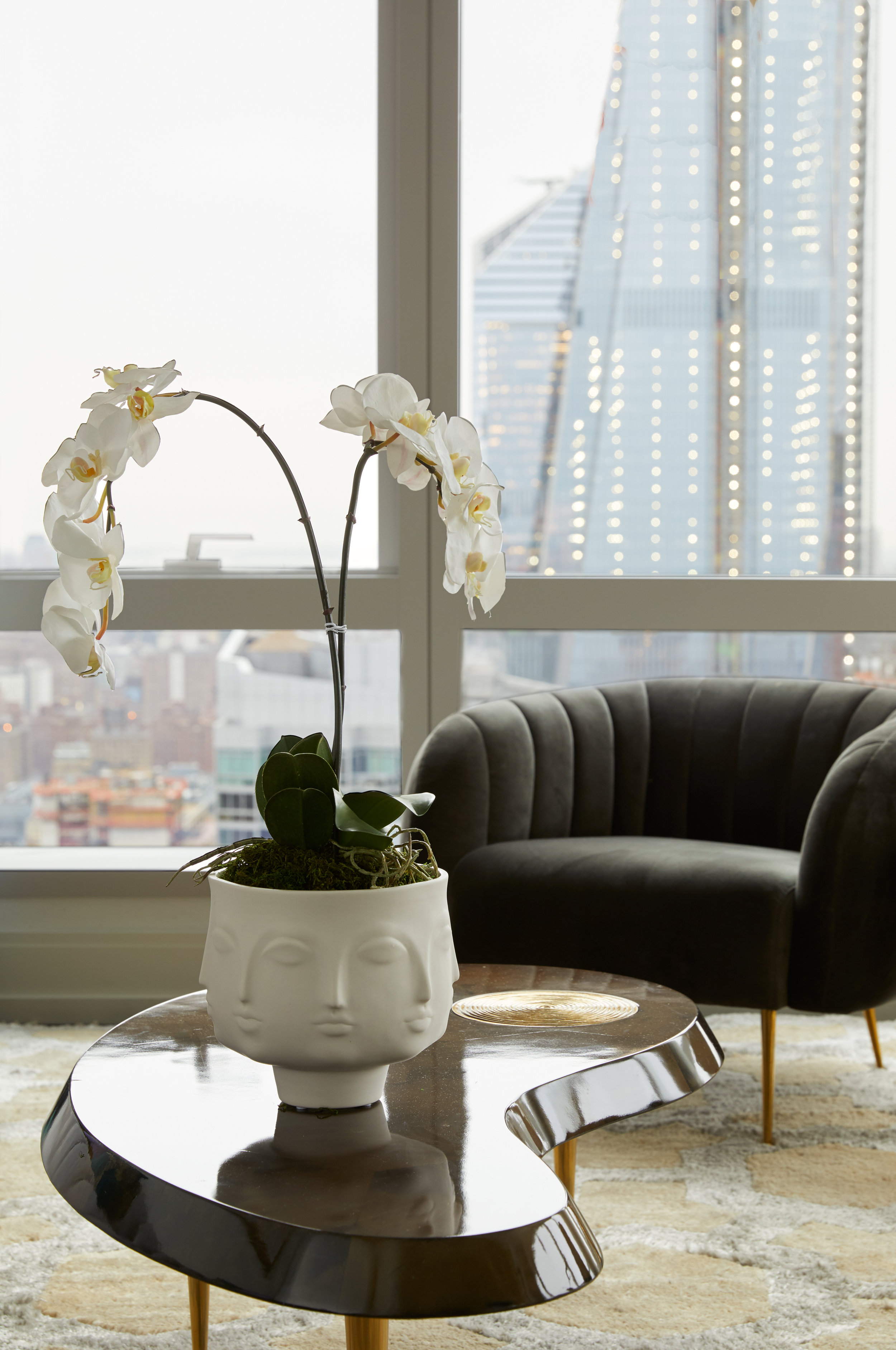 Jonathan Adler-Designed Oasis In The Sky Revealed At Extell's 555Ten in Hell's Kitchen